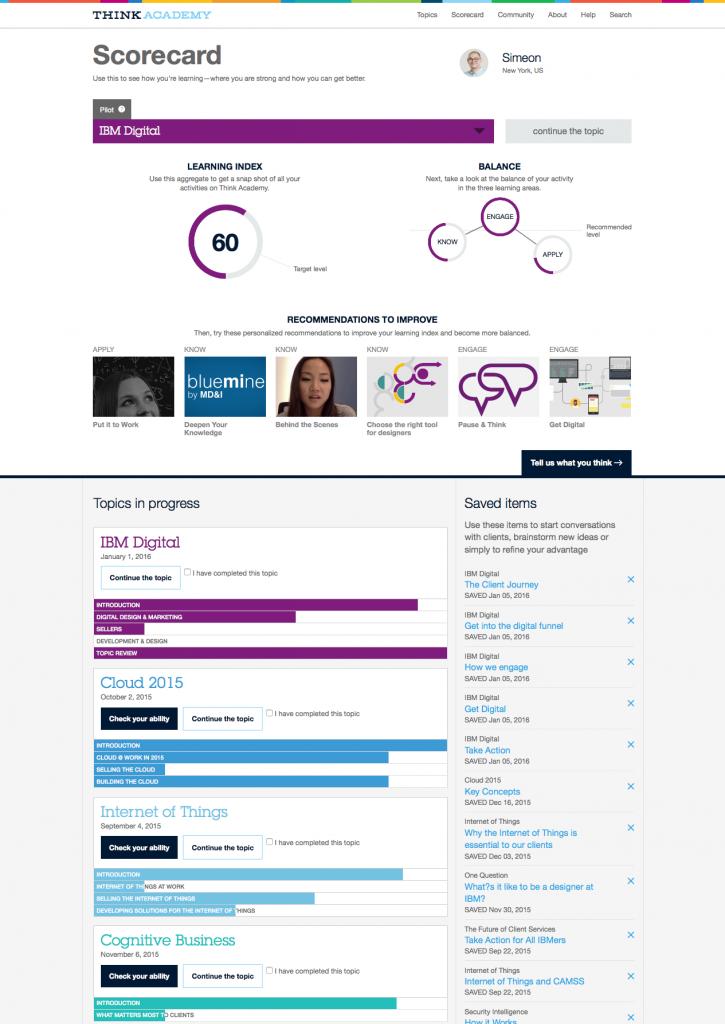 IBM Think Academy | Extras: Dashboard 2016-01-13 22-18-03